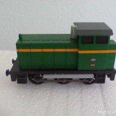 Trenes Escala: IBERTREN H0 DIGITAL. LOCOMOTORA TRACTOR DE MANIOBRAS. RENFE 10426. FUNCIONANDO. . Lote 189417477