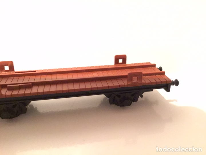 Trenes Escala: VAGÓN IBERTREN H0 PORTACONTENEDORES. MADE IN SPAIN. - Foto 2 - 189547675