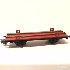 Trenes Escala: VAGÓN IBERTREN H0 PORTACONTENEDORES. MADE IN SPAIN.. Lote 189547675