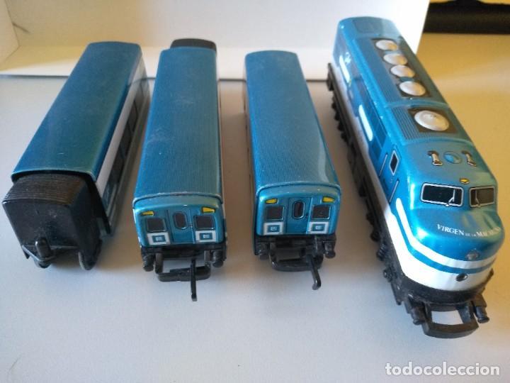 IBERTREN TRENEX TALGO VIRGEN DE LA MACARENA LOCOMOTORA VAGON VAGONES (Juguetes - Trenes a Escala - Ibertren H0)