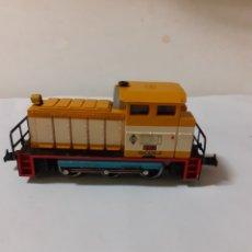 Trenes Escala: IBERTREN LOCOMOTORA MAQUINA DIESEL MANIOBRAS SHELL REF 2103. Lote 190610976