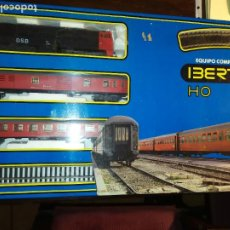 Trenes Escala: IBERTREN EQUIPO COMPLETO 2005 (NUEVO). Lote 191121155