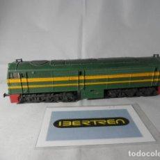 Trenes Escala: LOCOMOTORA DIESEL RENFE ESCALA HO DE IBERTREN . Lote 191355130