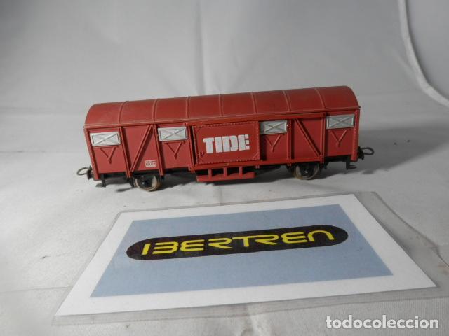 VAGÓN CERRADO TIDE ESCALA HO DE IBERTREN (Juguetes - Trenes a Escala - Ibertren H0)
