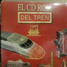 Trenes Escala: EL CD ROM DEL TREN. FUNDACIÓN DE FERROCARRILES ESPAÑOLES. Lote 191386716