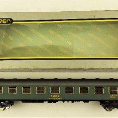 Trenes Escala: IBERTREN COCHE PASAJEROS 2ª VERDE RENFE REF 2205. Lote 191730951