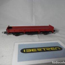 Trenes Escala: VAGÓN BORDE BAJO ESCALA HO DE IBERTREN . Lote 192573975