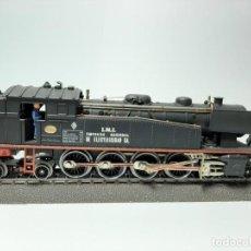Trenes Escala: IBERTREN LOCOMOTORA VAPOR 242 REF. 2107 EN SU CAJA ORIGINAL, COMPATIBLE CON MARKLIN, FLEISCHMANN.... Lote 193408513