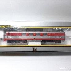 Trenes Escala: IBERTREN LOCOMOTORA DIESEL TALGO REF. 2108 VIRGEN DEL CARMEN, COMPATIBLE CON MARKLIN, MÄRKLIN .... Lote 193412476