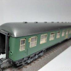 Trenes Escala: IBERTREN, VAGÓN ESCALA H0 DE SEGUNDA. Lote 193437030
