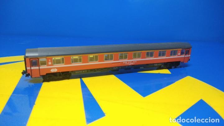 Trenes Escala: Ibertren Vagón pasajero 1º Clase-escala H0 buen estado - Foto 2 - 193664635