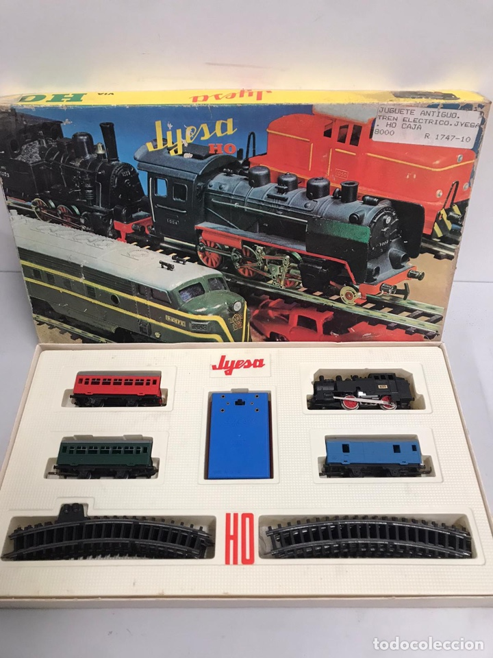 Trenes Escala: TREN JYESA JYE LOCOMOTORA FERROCARRIL AÑOS 60-70 - Foto 2 - 194896887