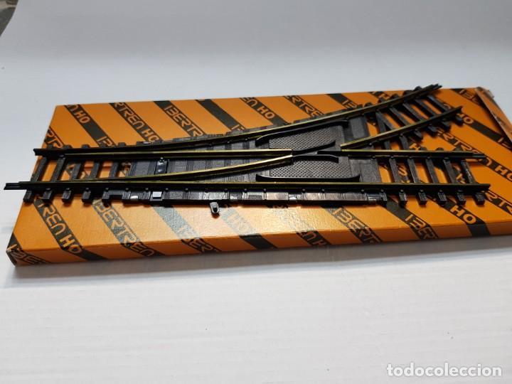 Trenes Escala: Ibertren H0 Cambio de Vias Manual Derecho en blister original - Foto 2 - 194991997