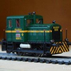 Trenes Escala: IBERTREN H0 LOCOMOTORA-TRACTOR DIESEL S/10100 DE RENFE, REFERENCIA 4301-A DIGITAL Y DESCATALOGADA. Lote 195052845