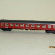 Trenes Escala: ANTIGUO COCHE DE VIAJEROS 2ª CLASE DE LA DSB EN ESCALA *H0* REF 2211 DE IBERTREN MADE IN SPAIN 1980S. Lote 195175861