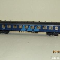 Trenes Escala: COCHE VIAJEROS EXPRESO DE LA N.S HOLANDESA EN ESCALA *H0* REF 2217 DE IBERTREN MADE IN SPAIN 1980S. Lote 195176462