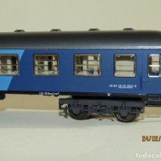 Trenes Escala: COCHE VIAJEROS EXPRESO DE LA N.S. HOLANDESA EN ESCALA *H0* REF 2216 DE IBERTREN MADE IN SPAIN 1980S. Lote 195177025