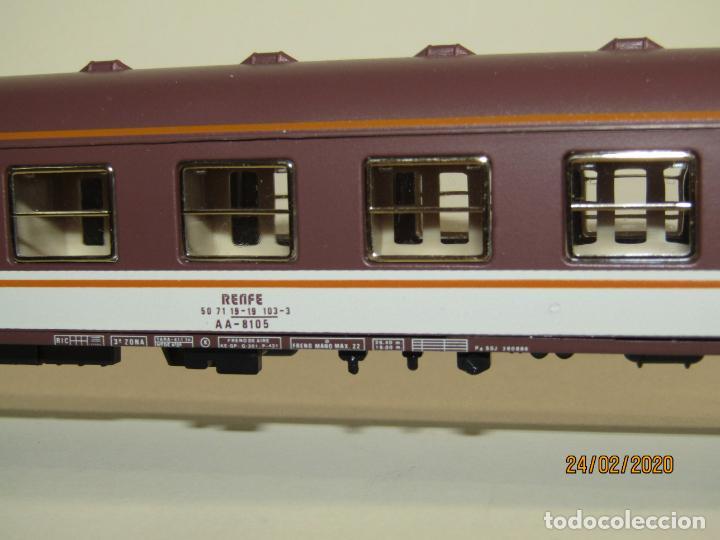 Trenes Escala: Antiguo Coche Viajeros 1ª Clase ESTRELLA en Escala *H0* Ref 2227 de IBERTREN Made in Spain 1980s - Foto 2 - 195177561