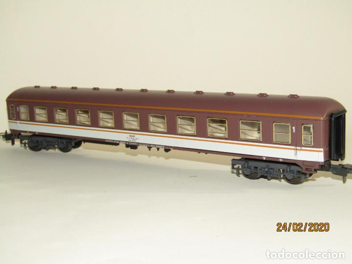 Trenes Escala: Antiguo Coche Viajeros 1ª Clase ESTRELLA en Escala *H0* Ref 2227 de IBERTREN Made in Spain 1980s - Foto 3 - 195177561