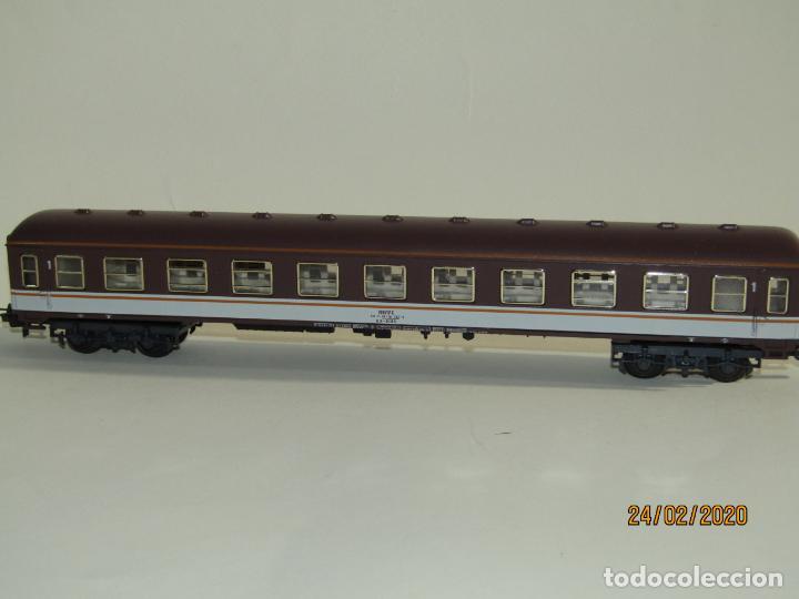 Trenes Escala: Antiguo Coche Viajeros 1ª Clase ESTRELLA en Escala *H0* Ref 2227 de IBERTREN Made in Spain 1980s - Foto 6 - 195177561
