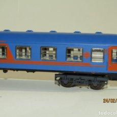 Trenes Escala: ANTIGUO COCHE RESTAURANTE NUEVA IMAGEN RENFE EN ESCALA *H0* REF 2214 DE IBERTREN MADE IN SPAIN 1980S. Lote 195179062