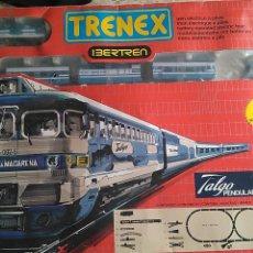 Comboios Escala: IBERTREN TRENEX CAJA DEL TALGO PENDULAR. MUY BUEN ESTADO LOCOMOTORA Y VAGONES. FUNCIONA. Lote 195656876