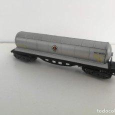 Comboios Escala: ANTIGUO VAGON CISTERNA BUTANO DE IBERTREN - 4 EJES - ESCALA N - . Lote 197813408