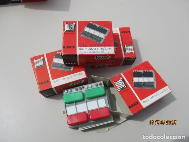 Trenes Escala: Jouef cuatro pupitres desvios nuevos en caja - Foto 2 - 199998962