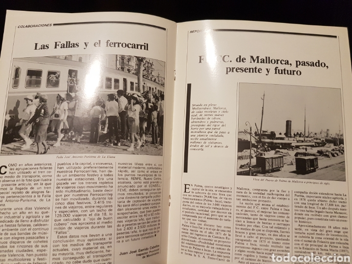 Trenes Escala: Revista FEVE tren n°8 abril 1985 - Foto 2 - 203456248
