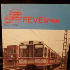 Trenes Escala: REVISTA FEVE TREN N°8 ABRIL 1985. Lote 203456248