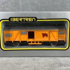Trenes Escala: VAGÓN DE MERCANCÍAS CERRADO 2 EJES - IBERTREN - REF: 2307. Lote 205074516