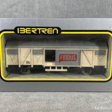 Trenes Escala: VAGÓN DE MERCANCÍAS CERRADO 2 EJES - IBERTREN - REF: 2373 - FINDUS. Lote 205074566