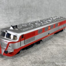 Comboios Escala: ELECTROTRÉN 352 TALGO LOCOMOTORA VIRGEN DEL CARMEN - DIGITAL. Lote 205076768