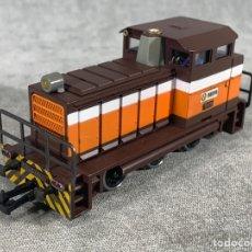 Trenes Escala: LOCOMOTORA IBERTREN MANIOBRAS RENFE 10435 - H0 -. Lote 205130821