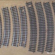 Trenes Escala: IBERTRAN 4 VIAS LARGAS 24 CM, 4 CORTAS 20 CM, ENVIO 4,00 EUROS. Lote 210568473
