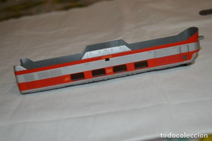 Trenes Escala: Chasis base y carrocería / Locomotora TALGO III / IBERTREN Antiguo - Escala H0 - ¡Mira fotos! - Foto 11 - 213770592
