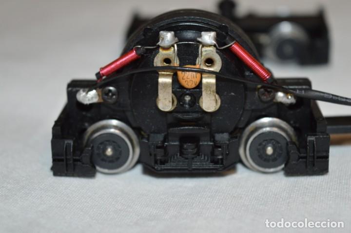 Trenes Escala: Bogie motor y toma corriente / Locomotora TALGO III / IBERTREN Antiguo - Escala H0 - ¡BUEN ESTADO! - Foto 4 - 213775505