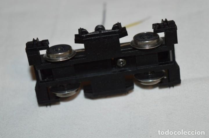Trenes Escala: Bogie motor y toma corriente / Locomotora TALGO III / IBERTREN Antiguo - Escala H0 - ¡BUEN ESTADO! - Foto 10 - 213775505