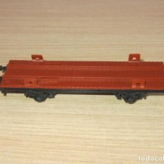Trenes Escala: VAGON PLATAFORMA ESCALA HO COMPLETO IBERTREN. Lote 217272033