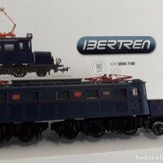 Trenes Escala: IBERTREN H0 DIGITAL LOCOMOTORA ELÉCTRICA 7100, DE NORTE/RENFE, REFERENCIA 4202-B.. Lote 217630677