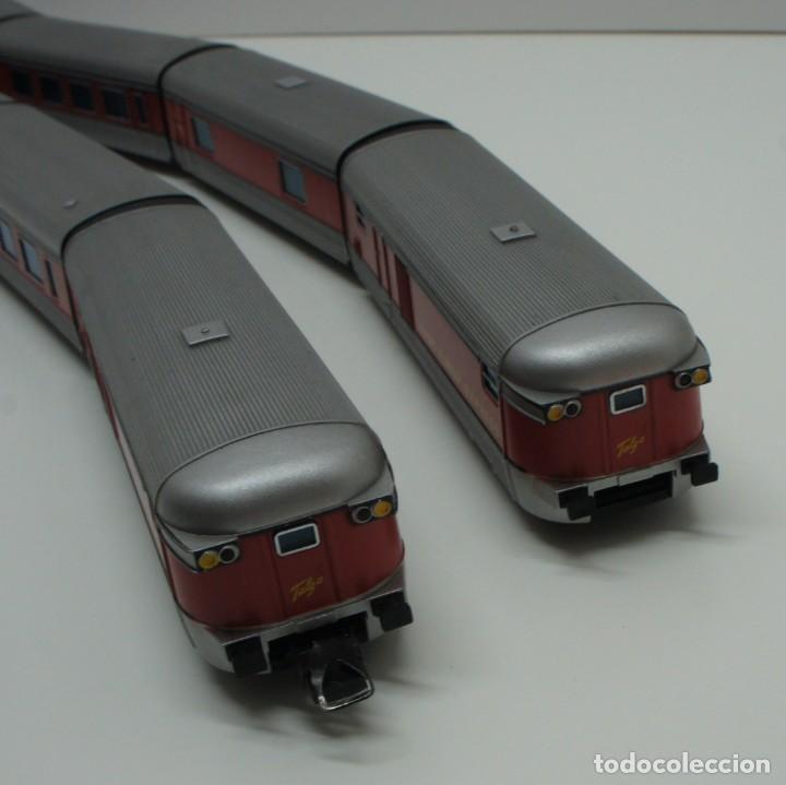 Trenes Escala: IBERTREN H0 MAQUINA Y VAGONES TALGO 2186 SIN LUZ . VER DESCRIPCIÓN . - Foto 21 - 217774446
