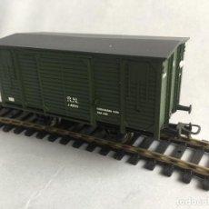 Trenes Escala: IBERTREN H0 VAGON CERRADO CARGA DOS EJES DIGITAL. Lote 218186251