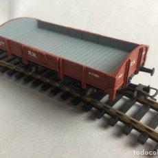 Trenes Escala: IBERTREN H0 VAGON DOS EJES BORDE BAJO ABIERTO DIGITAL. Lote 218186378
