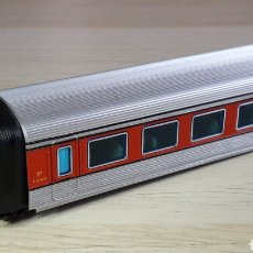 Trenes Escala: COCHE 1ª CLASE TALGO III RD *CON LUZ INTERIOR* IBERTREN SPAIN H0 1/87, ORIGINAL AÑOS 80.. Lote 220620170