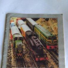 Trenes Escala: IBERTREN H0 CATÁLOGO FOLLETO MATERIAL MOVIL. Lote 221461003