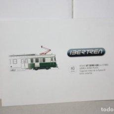 Trenes Escala: TARJETA PUBLICIDAD DE IBERTREN H0 UT SERIE 438 (EX UT800). Lote 221609756