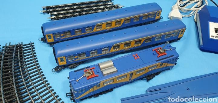 Trenes Escala: TREN COMPLETO RENFE - LOCOMOTORA MAZINGER IBERTREN HO - SE VENDE COMO QUE NO FUNCIONA, NO HA SIDO - Foto 5 - 222648758