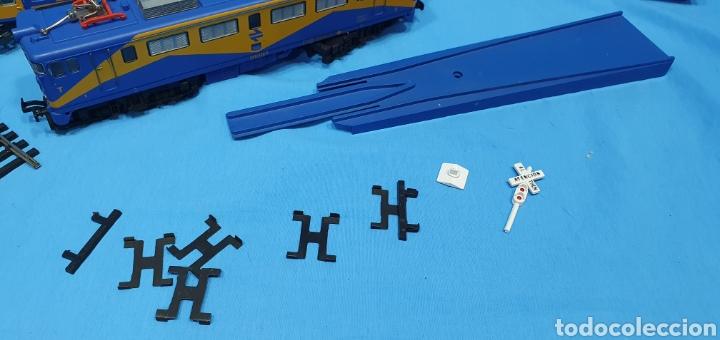Trenes Escala: TREN COMPLETO RENFE - LOCOMOTORA MAZINGER IBERTREN HO - SE VENDE COMO QUE NO FUNCIONA, NO HA SIDO - Foto 7 - 222648758