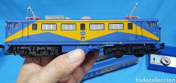 Trenes Escala: TREN COMPLETO RENFE - LOCOMOTORA MAZINGER IBERTREN HO - SE VENDE COMO QUE NO FUNCIONA, NO HA SIDO - Foto 8 - 222648758