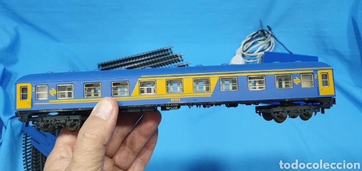 Trenes Escala: TREN COMPLETO RENFE - LOCOMOTORA MAZINGER IBERTREN HO - SE VENDE COMO QUE NO FUNCIONA, NO HA SIDO - Foto 15 - 222648758